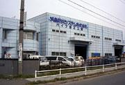 画像:パイプ加工工場